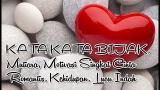 Video Lagu KATA KATA BIJAK, Mutiara, Motivasi Singkat Cinta Romantis, Keupan, Lucu Indah Terbaik 2021 di zLagu.Net