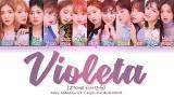 Download IZ*ONE (아이즈원) - Violeta (비올레타) (Color Coded Lyrics Eng/Rom/Han/가사) Video Terbaru - zLagu.Net